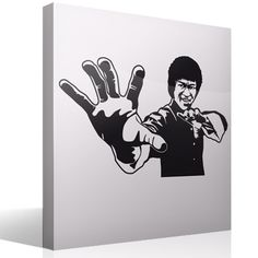 Wall Stickers Bruce Lee
