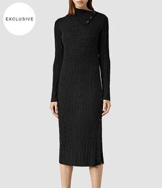 Women's Malin Dress (Cinder Marl) - product_image_alt_text_1