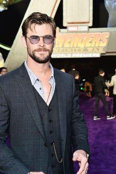Chris Hemsworth attends the Los Angeles Global Premiere for Marvel Studios' Avengers: Infinity War.