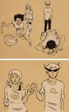 oh boy... (I think this picture was the last straw for me really shipping Roxy/Dirk lol)