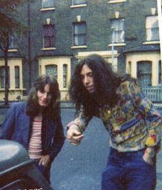 Pre-Clash Mick Jones, with far too much hair.