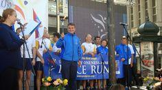 Visitez Belgrade (Виситез Белград): Le finish de la course pour la paix, Peace Run, à Belgrade