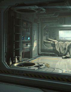Sci-Fi Bedroom