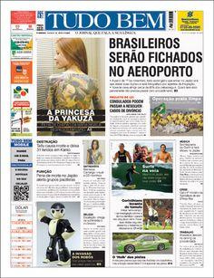 Diagramação #4 - Jornal - Choco la Design | Choco la Design | Design é como chocolate, deixa tudo mais gostoso.