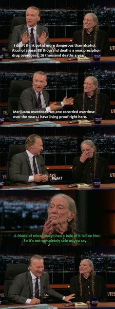 Willie Nelson on the dangers of Marijuana.