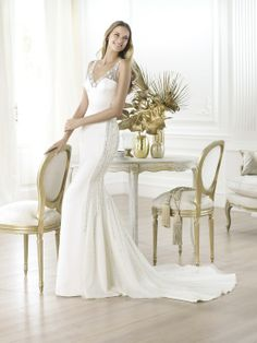 Wedding dress 2014 by Pronovias