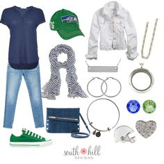 Getting ready for South Hill Designs, Looks Great, Comfy, Seahawks, My Style, Casual, Cute, How To Wear, Outfits