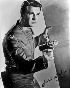 1956 ... Leslie Nielsen as Cmdr. Adams   (Forbidden Planet) - This movie very obviously inspired Star Trek.  I had no idea until I saw it.  And I was like...well, yeah.