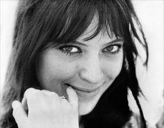 Anna Karina. A classic beauty. Simple,demure and lovable.
