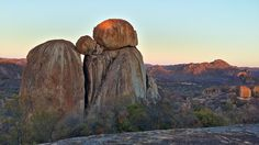 Matobo National Park, Zimbabwe, Africa. Amazing rock formations. Via GreatZimbabweGuide.com