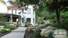 When planning your Fall maintenance projects, keep future lawn and garden changes in mind. It'll help keep this Fall and Winter in sync with Spring 2017 landscaping goals! Landscape Plans, Landscape Designs, Organic Lawn Care, Fine Gardening, Landscape Lighting, Cool Plants, Garden Planning, Lawn And Garden, Curb Appeal
