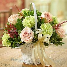 Корзина из цветов «Лайсан»