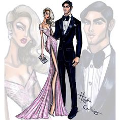 #GoldenGlobes Glam 2016 by Hayden Williams