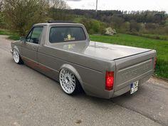 Volkswagen Golf Mk1, Vw Mk1, Volkswagen Models, Vw Rabbit Pickup, Vw Pickup, Vw Classic, Classic Trucks, Vw Cady, Vw Commercial