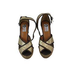 Espadrilles Lanvin www.jolicloset.com  #espadrilles #lanvin #luxe #mode #fashion #paris #chaussures #sandales