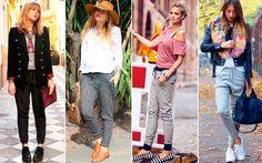 A calça jogging vai bombar no inverno. Vem se inspirar nos modelos mais legais! - Moda - CAPRICHO