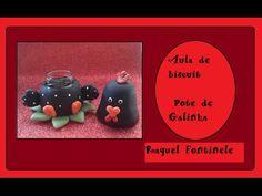 DIY- Biscuit Pote Galinha - Raquel Fontinele - YouTube