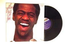 JANUARY SALE LP Album Al Green Full Of Fire Vinyl Record Motown Funk Soul 1982 Reissue Soon As I Get Home