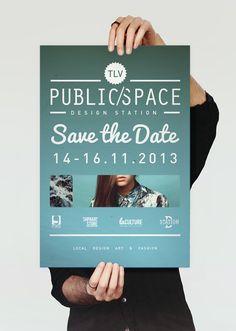 Public/Space > Save the Date- itayblaish.telavivian.com