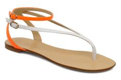 VICINI Victorinne Sandal (Orange).