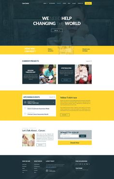 Homepage for a non profit organization that we recently designed for @Bogdan Trifu Condurache. Design was meant to be used with Twitter Bootstrap.