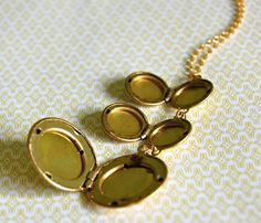Gold Plated Trio Lockets - Favorites Uncovet