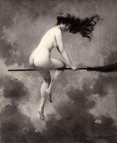 Witch departingforthesabbathalbertjosephpenot.jpg 1,016×1,240 pixels http://sexywitch.wordpress.com/2007/08/03/penots-salon-witch-1910/