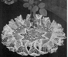 Star Ruffle Doily Free Crochet Pattern