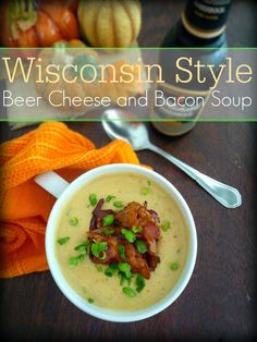 Wisconsin Style Beer Cheese and Bacon Soup