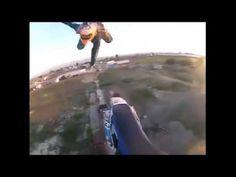 Dirt bike jump fail