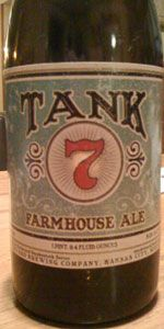 Tank 7 Farmhouse Ale is a Saison / Farmhouse Ale style beer brewed by Boulevard Brewing Co. in Kansas City, MO. 93 out of 100 with 3280 ratings, reviews and opinions.