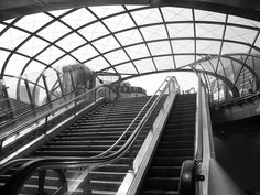 Exit Paris Metro station Gare Saint Lazare