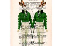 2 Kaninchen Dandy