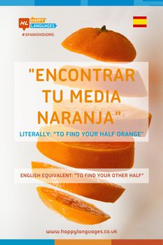 ¿Has encontrado tu media naranja? Learn this nice Spanish idiom and have a look at some examples! Spanish Idioms, Spanish Humor, School Tips, School Hacks, Idiomatic Expressions, Learn Spanish, Languages, Learning, Nice