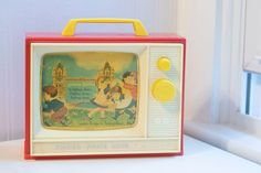 A cute vintage toy from 1966 Fisher Price Fisher Price Toys, Vintage Fisher Price, Music For Toddlers, London Bridge, Vintage Toys, Kids Toys, Musicals, Tv, Childhood Toys