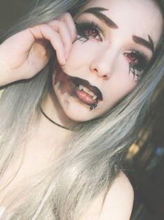 halloween makeup vampire