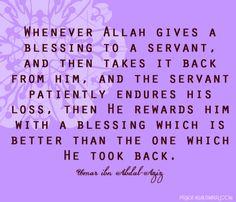 islam blessings