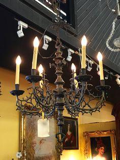 Cal FX-3504-6 Oelwein Texture Black Chandelier Light - CAL-FX-3504 ...