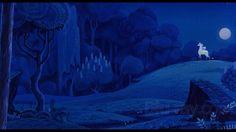 The Last Unicorn Blu-ray Release Date February 2011 Landscape Sketch, Landscape Concept, Unicorn Backgrounds, The Last Unicorn, Fantasy Story, Fantasy Characters, Art Inspo, Illustration Art, Illustrations