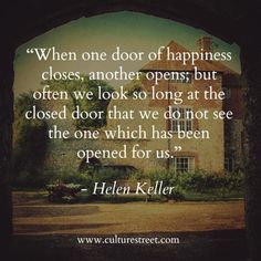 Culture Street | Quote of the Day from Helen Keller