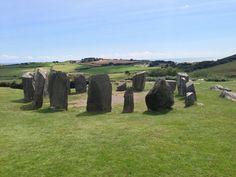 Drombeg stone circle, near Glandore in South West Cork.