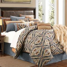 Save - on all Rustic bedding and comforter sets at Black Forest Decor. Your source for discount pricing on lodge bedding and bear bedding accessories. Luxury Comforter Sets, Cheap Bedding Sets, Best Bedding Sets, Bedding Sets Online, Queen Bedding Sets, Queen Comforter Sets, Affordable Bedding, Unique Bedding, Modern Bedding