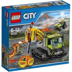 LEGO City - Vulcão: Robot de Busca - 60122