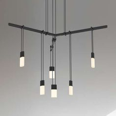 Suspenders® 24 Inch 1 Tier Tri Bar 6 Light LED Suspension System
