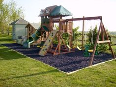 Kids Outdoor Play, Outdoor Play Areas, Kids Play Area, Backyard For Kids, Backyard Ideas, Outdoor Play Structures, Backyard Playset, Backyard Playground, Children Playground