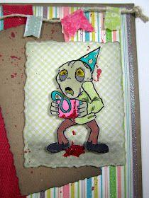 Zombie birthday card pinteres happy zombie birthday card bookmarktalkfo Images