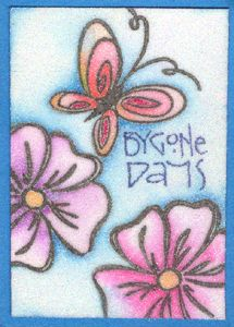 cards and techniques using  Glitter  Ritz- Glitter October 2009  http://www.yogiemp.com/ATC/RitzGlitter/GlitterOct09.html#