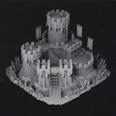 Thorn Castle, Roman Agieiev on ArtStation at https://www.artstation.com/artwork/OerW6