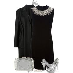 All Embellished For New Year's Eve, created by jafashions on Polyvore