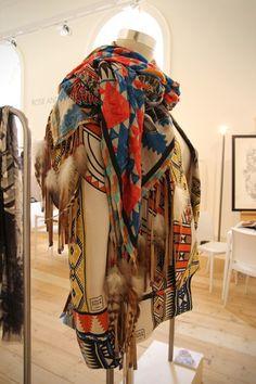 Desire is... a Loup Noir SS13 jacket & scarf
